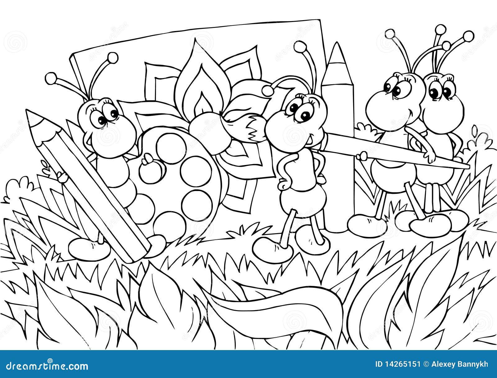 καλλιτέχνες μυρμηγκιών
