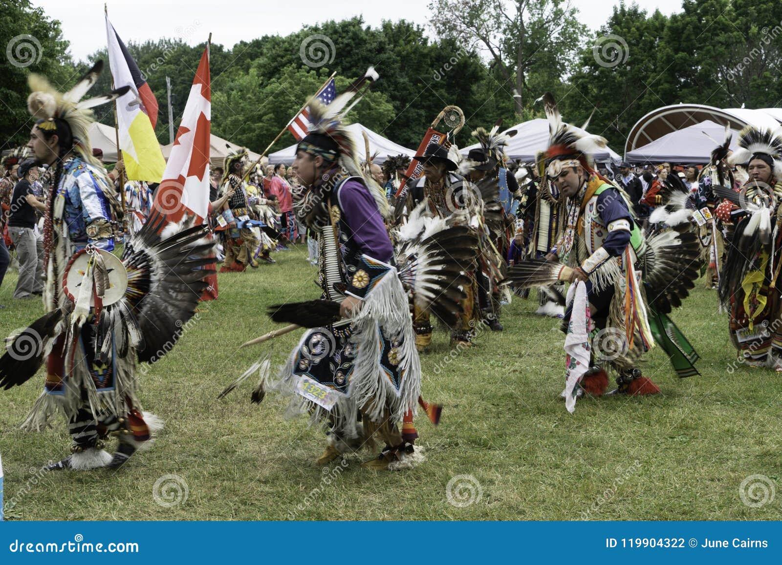 Καλοκαίρι Solstice Pow αμερικανών ιθαγενών wow