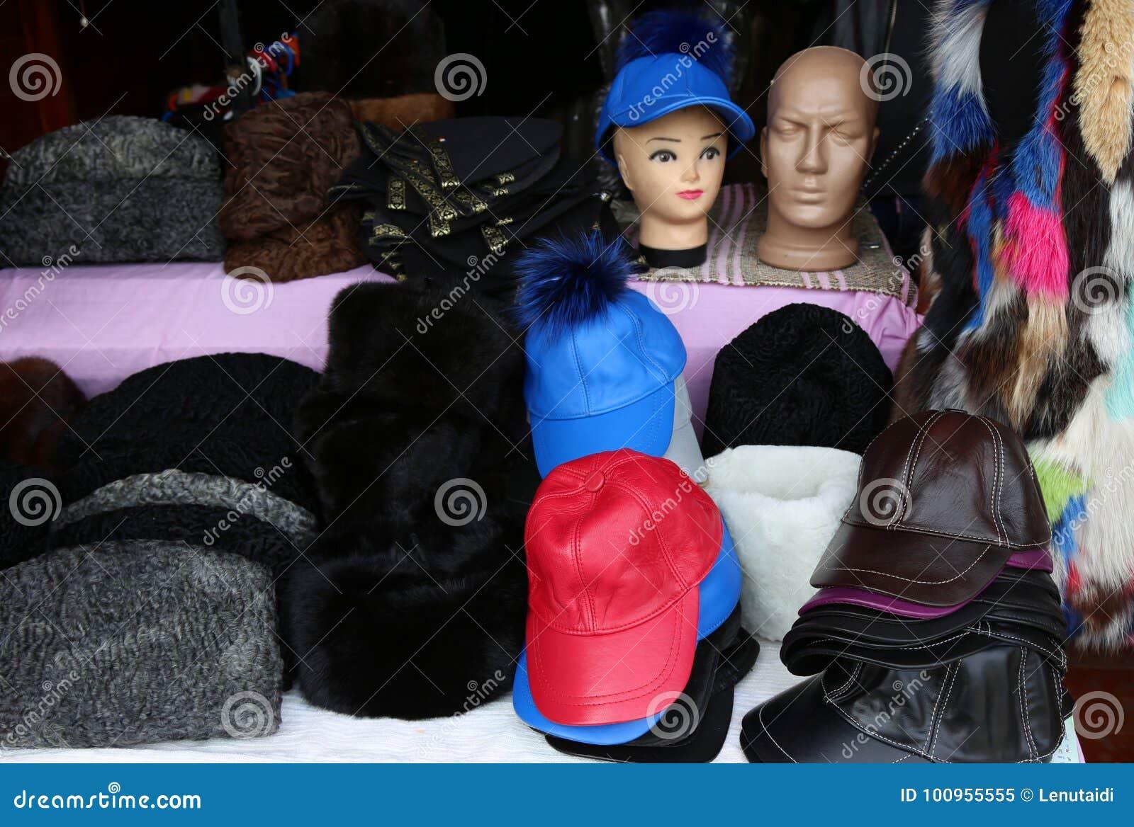 Καλύμματα και καπέλα φιαγμένα από δέρμα