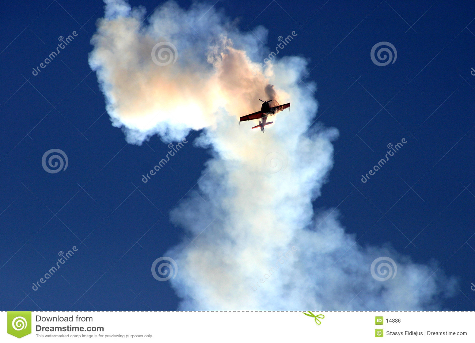 καλύψτε τον καπνό αεροπλά&