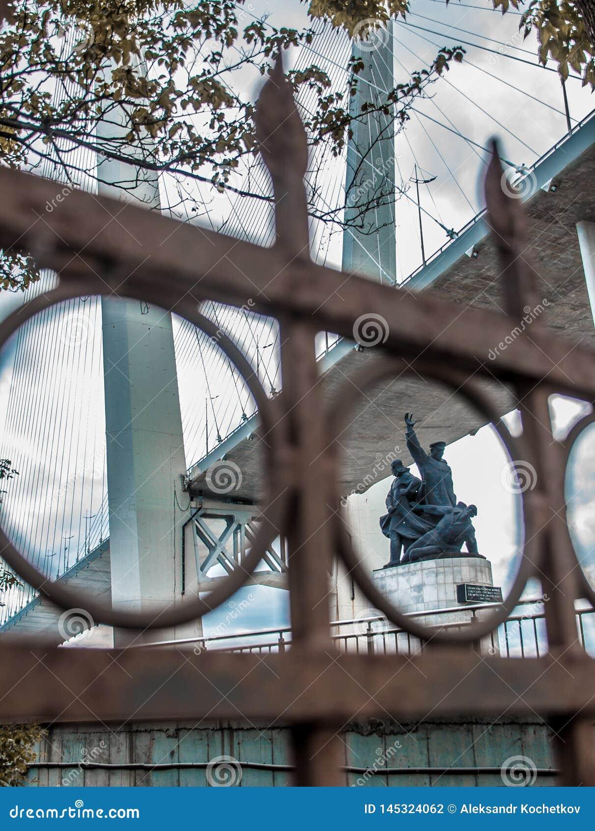 Καλώδιο-μένοντη γέφυρα του Βλαδιβοστόκ