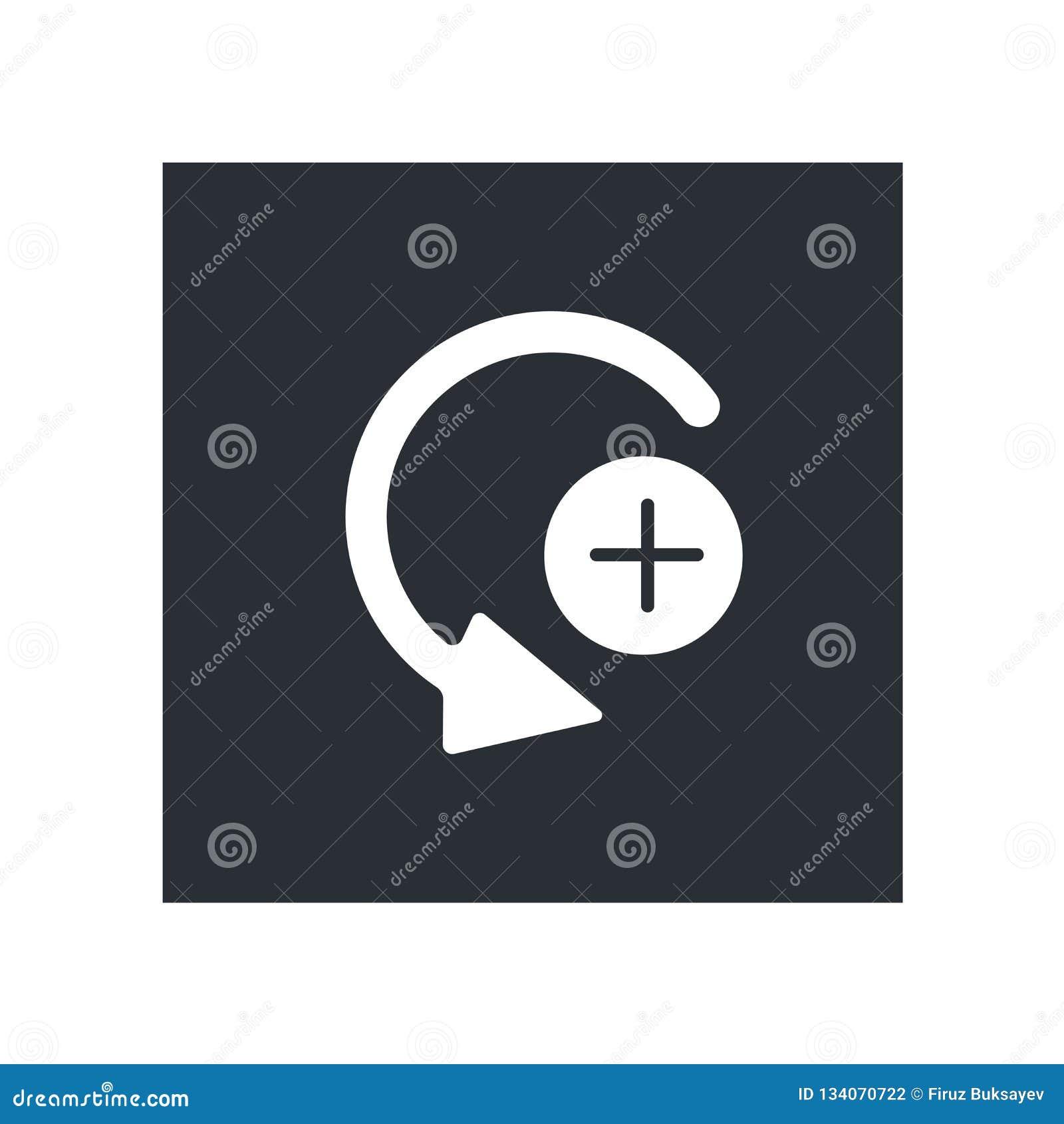 Καμπυλών σωστών βελών σημάδι και σύμβολο εικονιδίων διανυσματικό που απομονώνονται στο άσπρο υπόβαθρο, έννοια λογότυπων σωστών βε