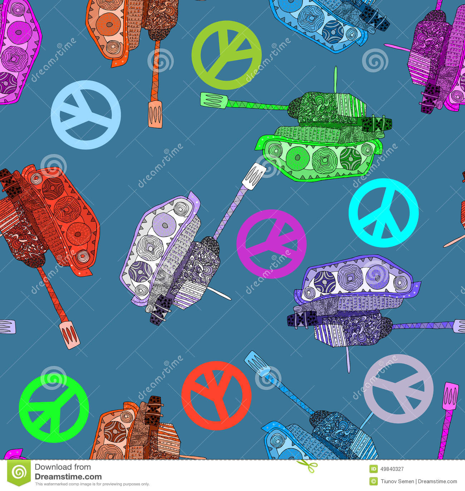 Κανένας πόλεμος, άνευ ραφής σχέδιο υπόβαθρο χίπηδων άσπρος κόσμος κουνημάτων ειρήνης χαρτών χεριών μέσα απομονωμένος