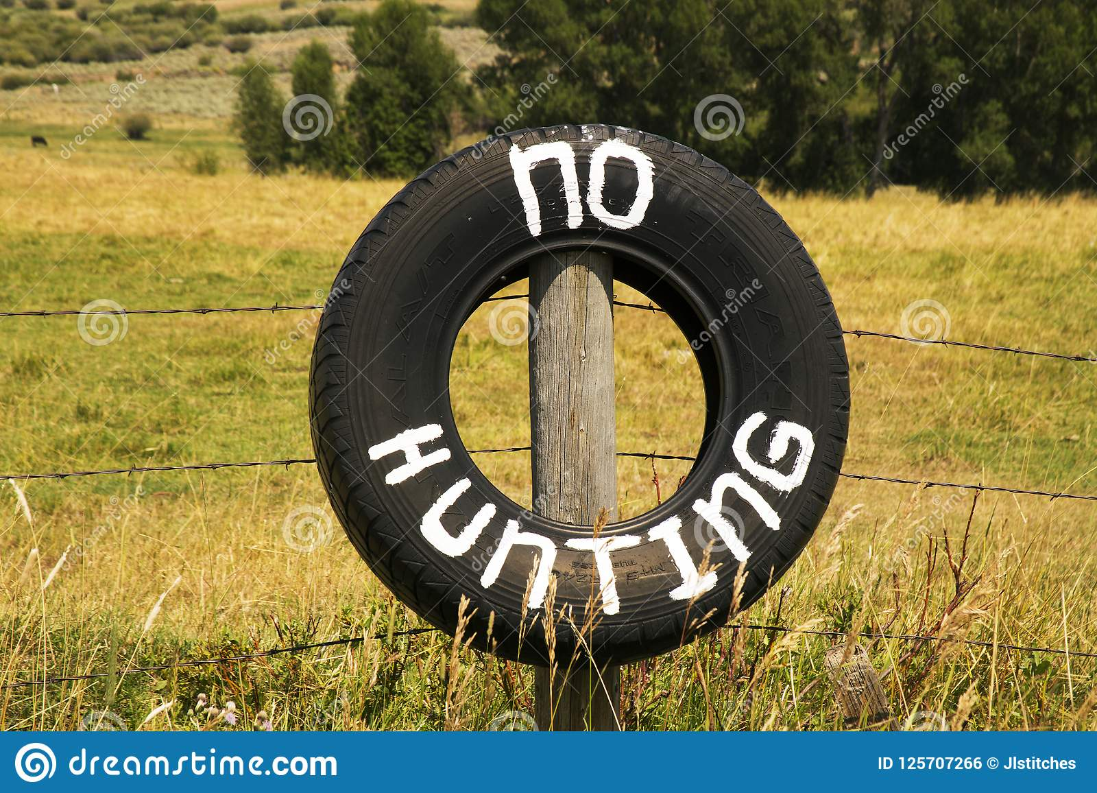 Κανένα κυνήγι σε μια ρόδα έξω από το εθνικό δρυμός τόξων ιατρικής, Wy