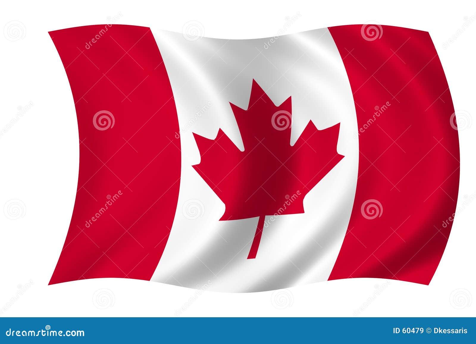 Download καναδική σημαία απεικόνιση αποθεμάτων. εικονογραφία από χώρες - 60479