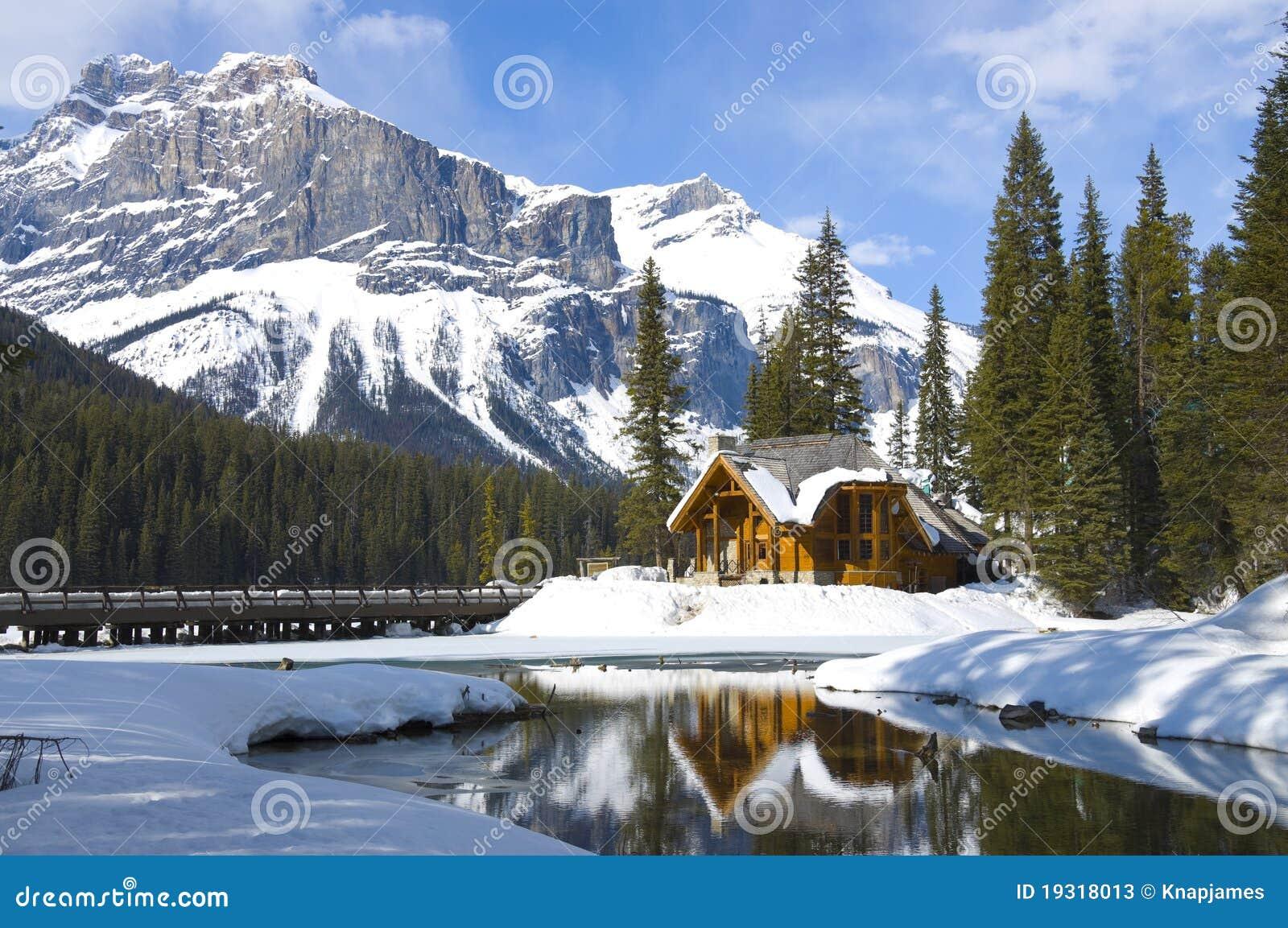καναδική σμαραγδένια λίμν&et