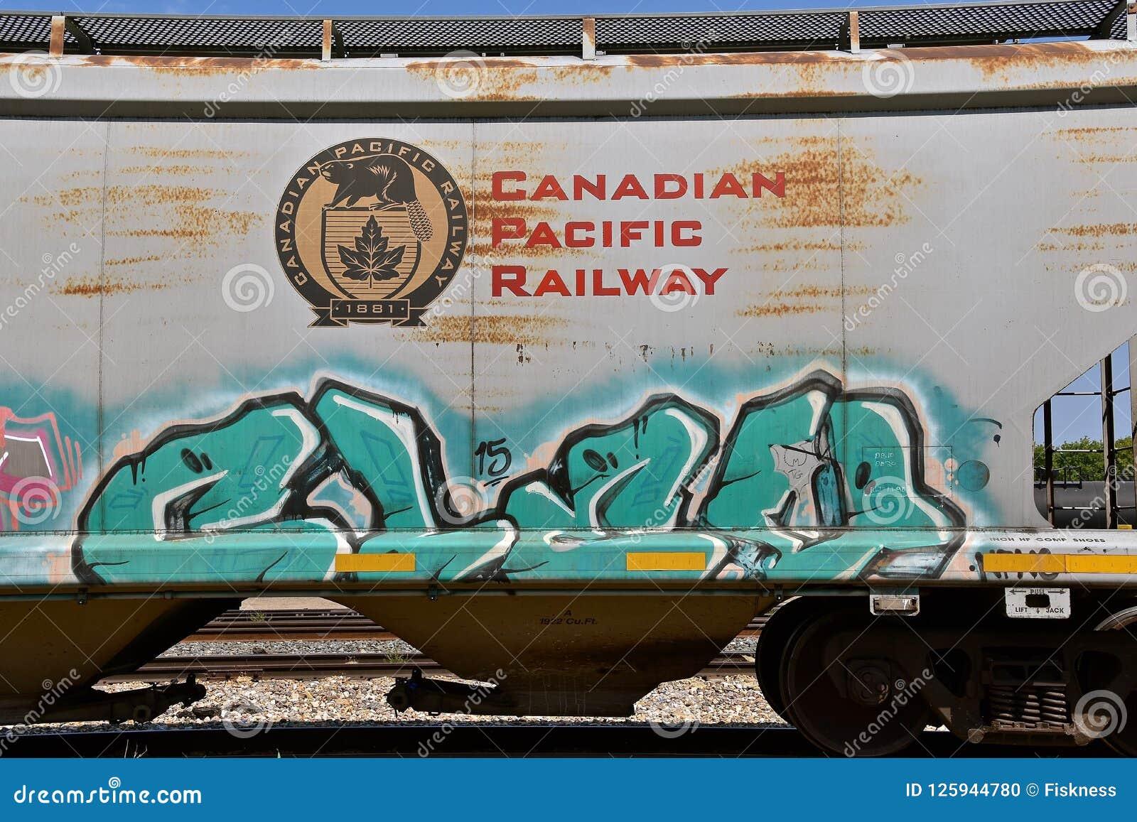 Καναδικό ειρηνικό boxcar σιδηροδρόμων