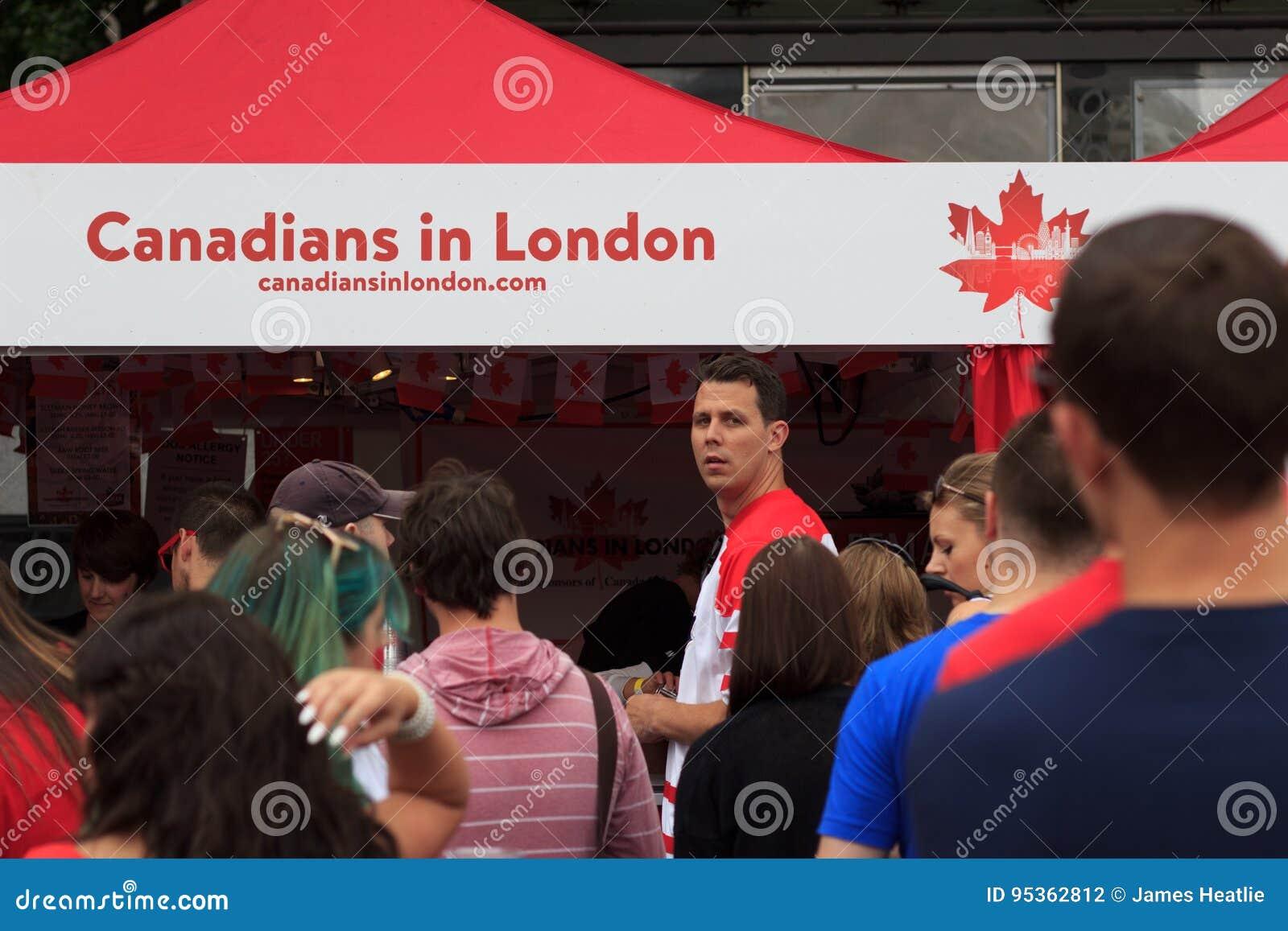 Καναδάς ημέρα 2017 εορτασμοί στο Λονδίνο