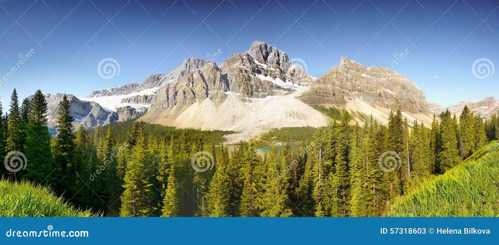 καναδικό πανόραμα rockies