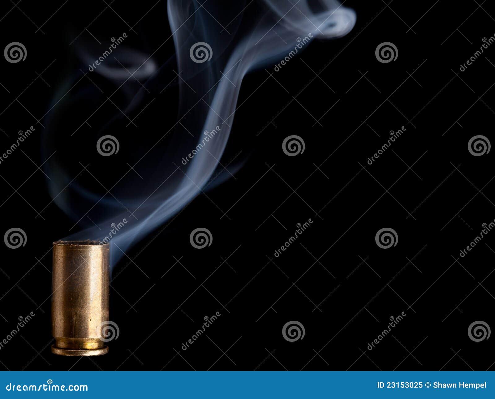Καπνίζοντας περίβλημα σφαιρών