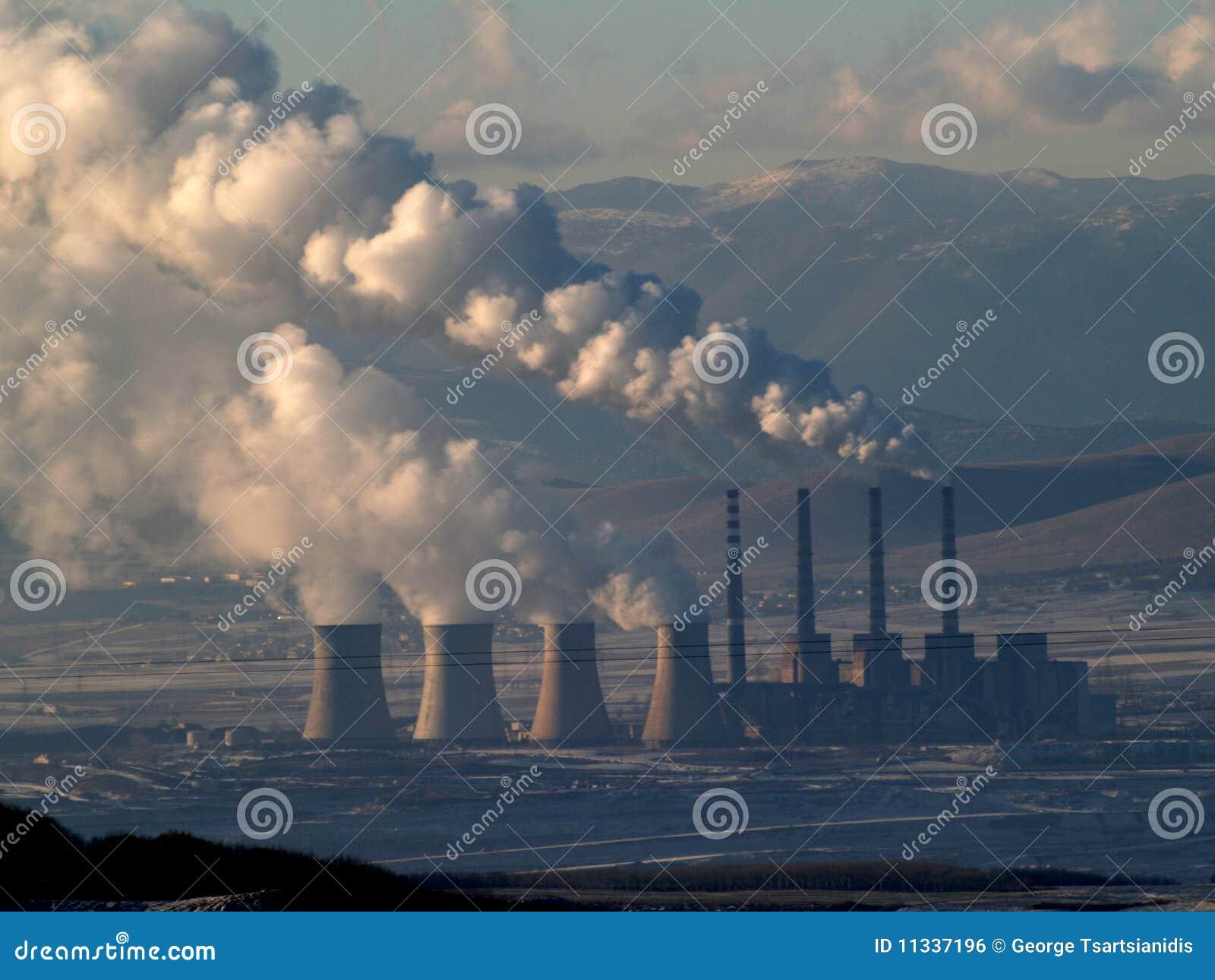 καπνίζοντας σταθμός ισχύ&omicron
