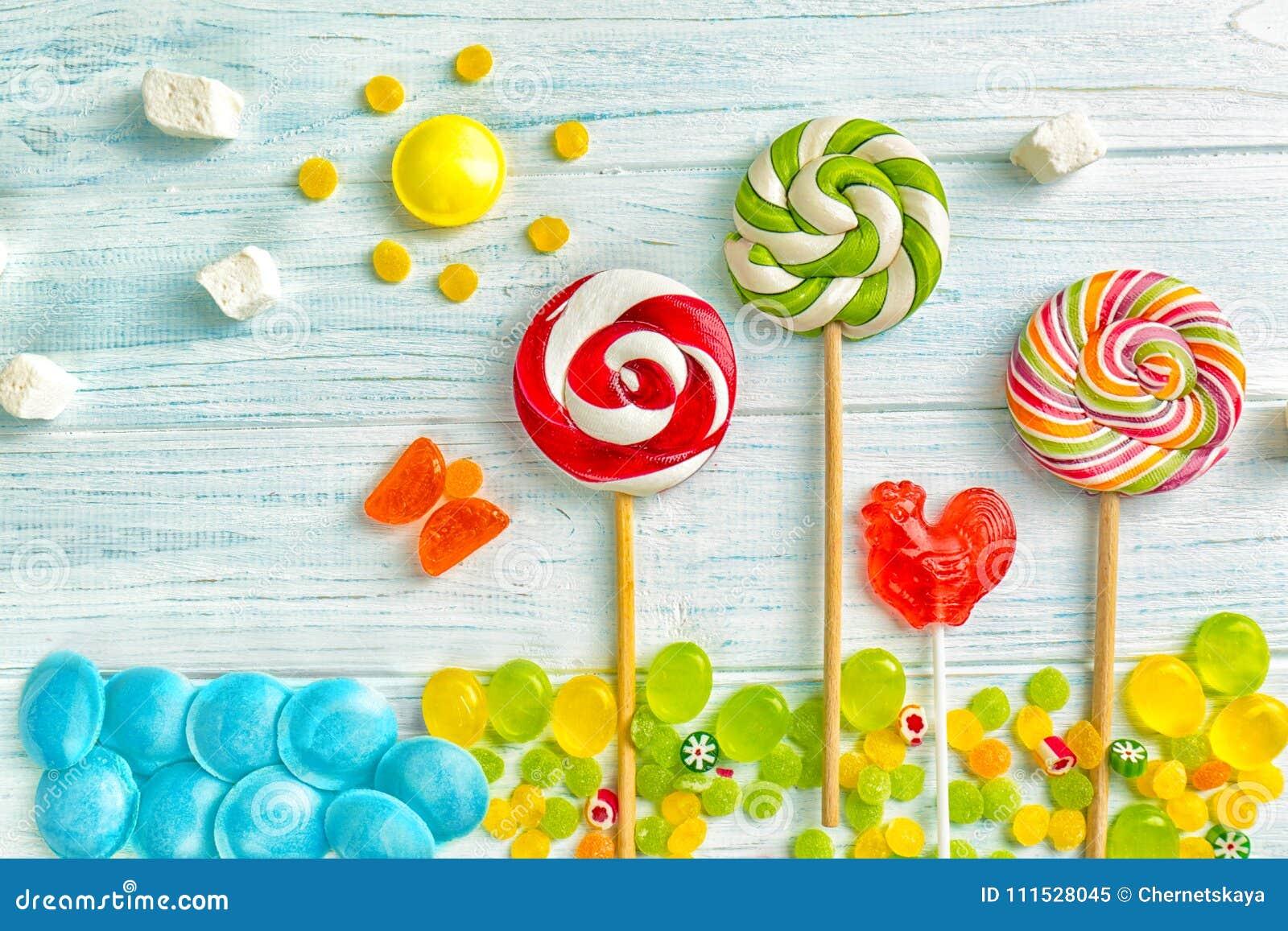 Καραμέλες και lollipops