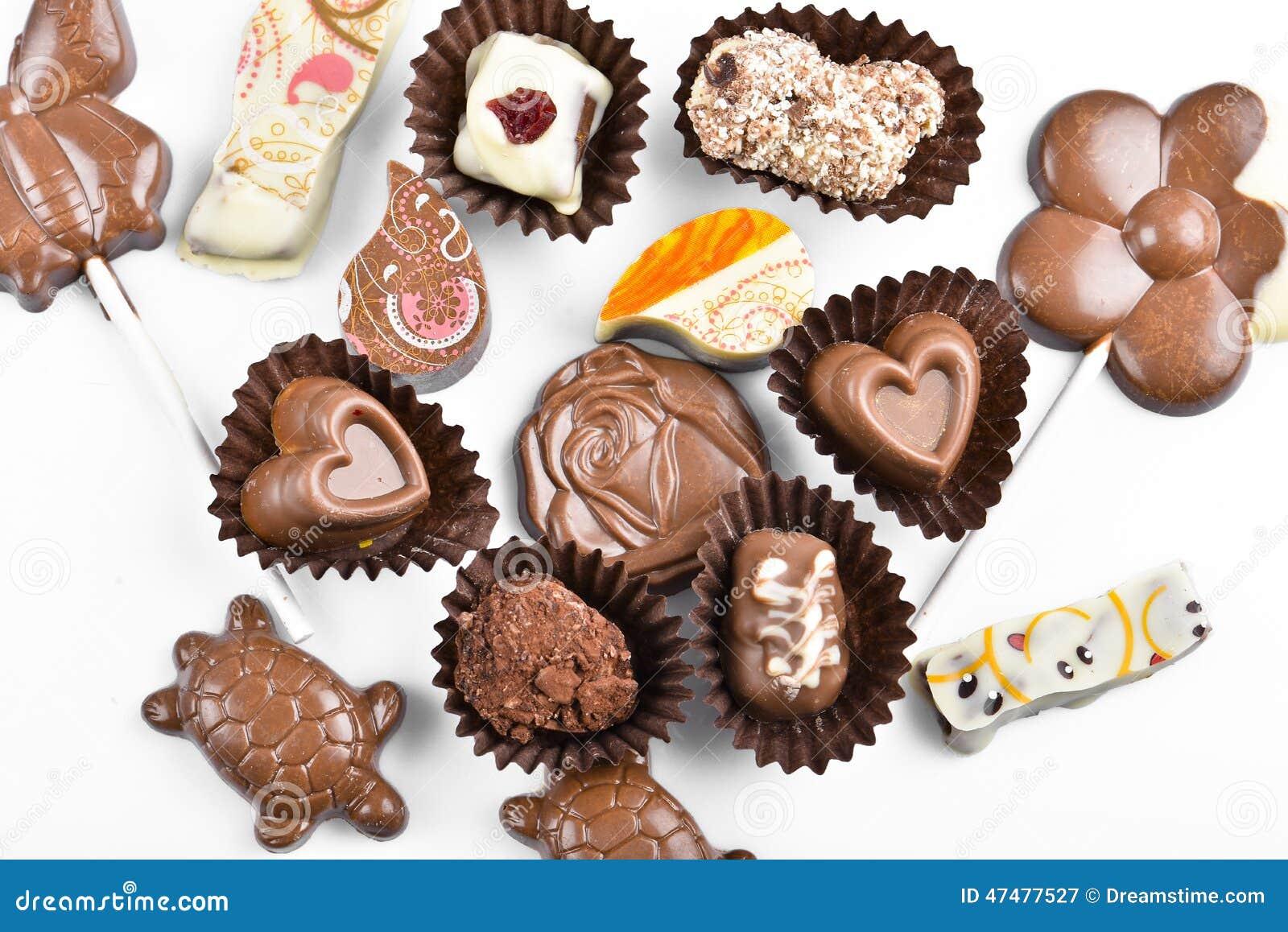 Καραμέλες σοκολάτας