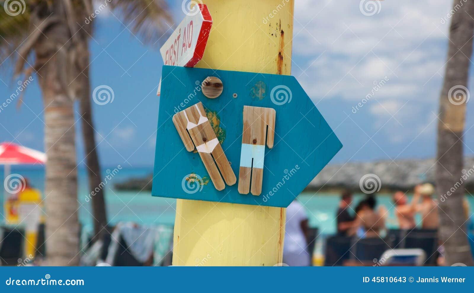 Καραϊβικό σημάδι χώρων ανάπαυσης