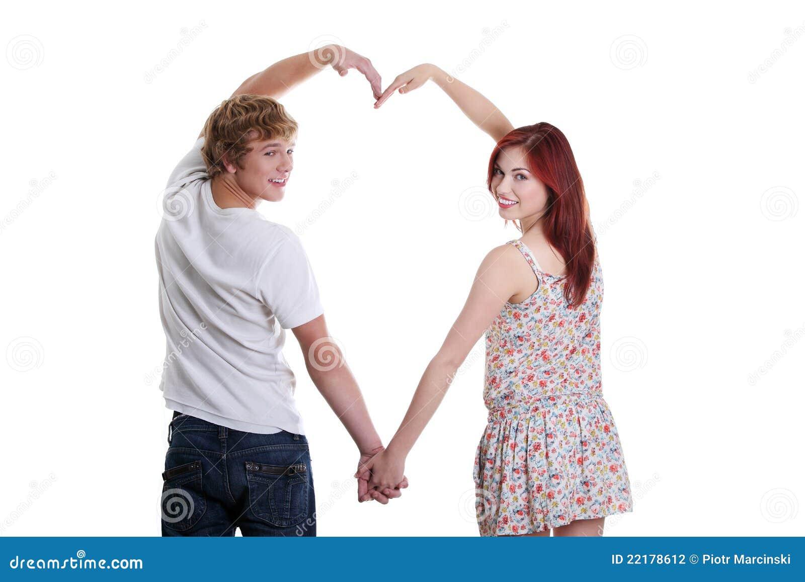 καρδιά ζευγών που κάνει τ&i