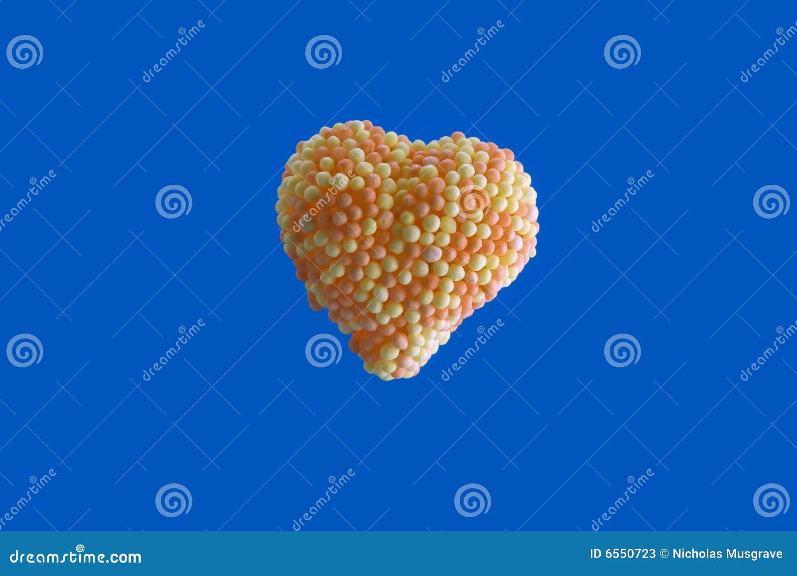 καρδιά καραμελών