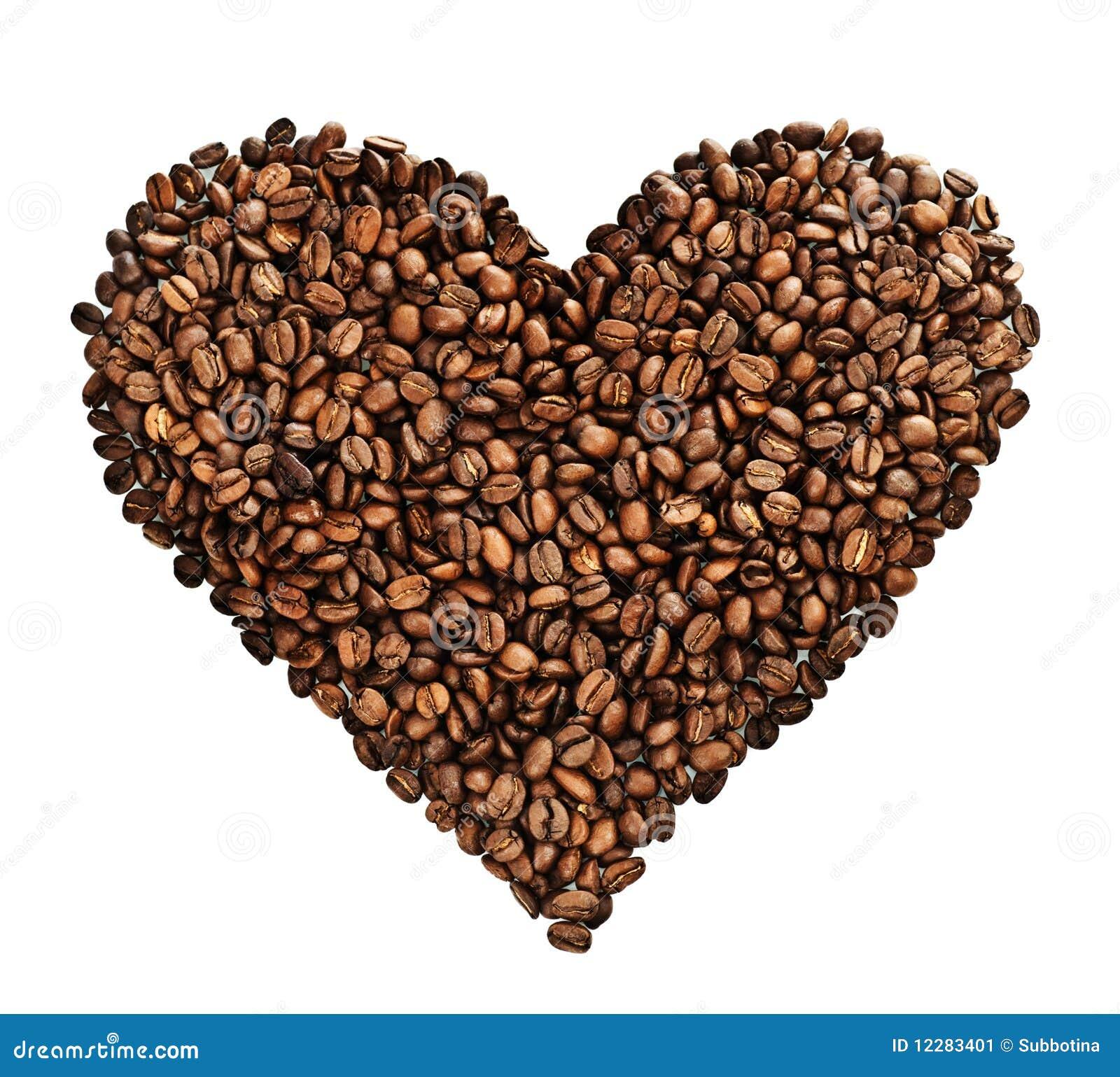 καρδιά καφέ