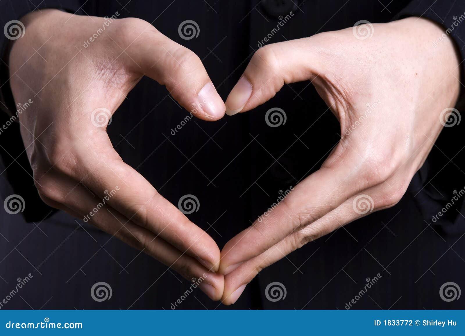 καρδιά χειρονομίας
