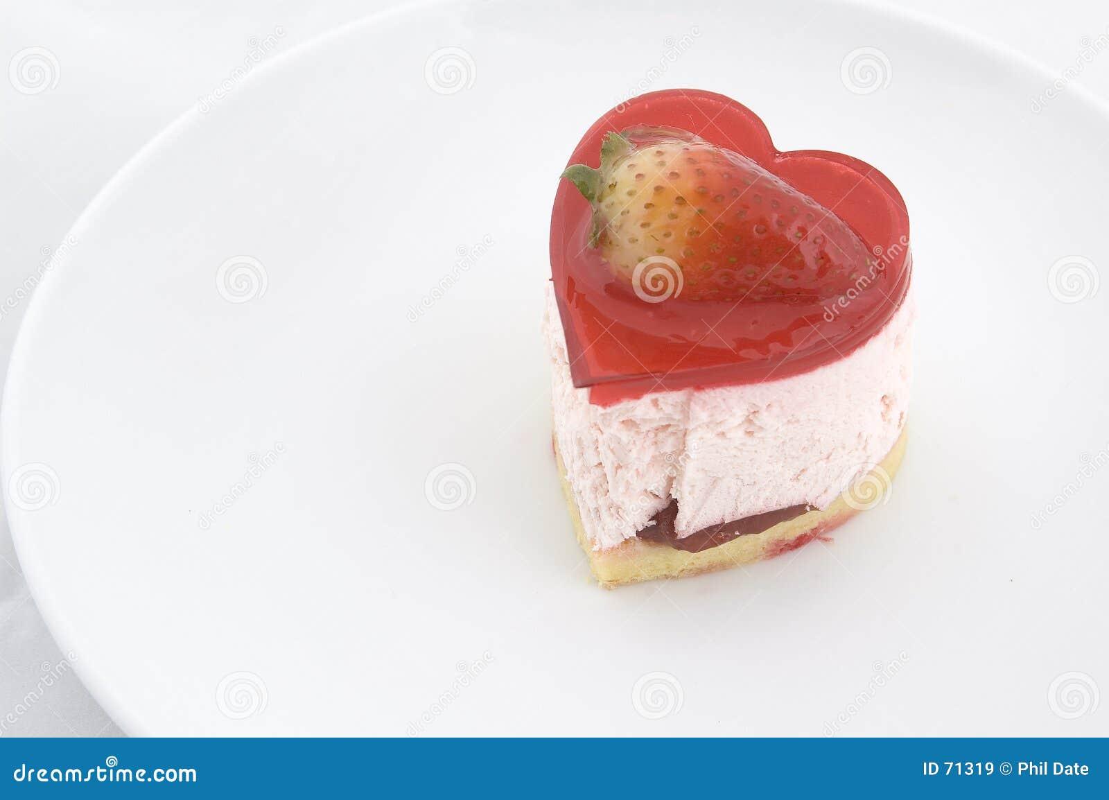 καρδιά 2 κέικ που διαμορφών&