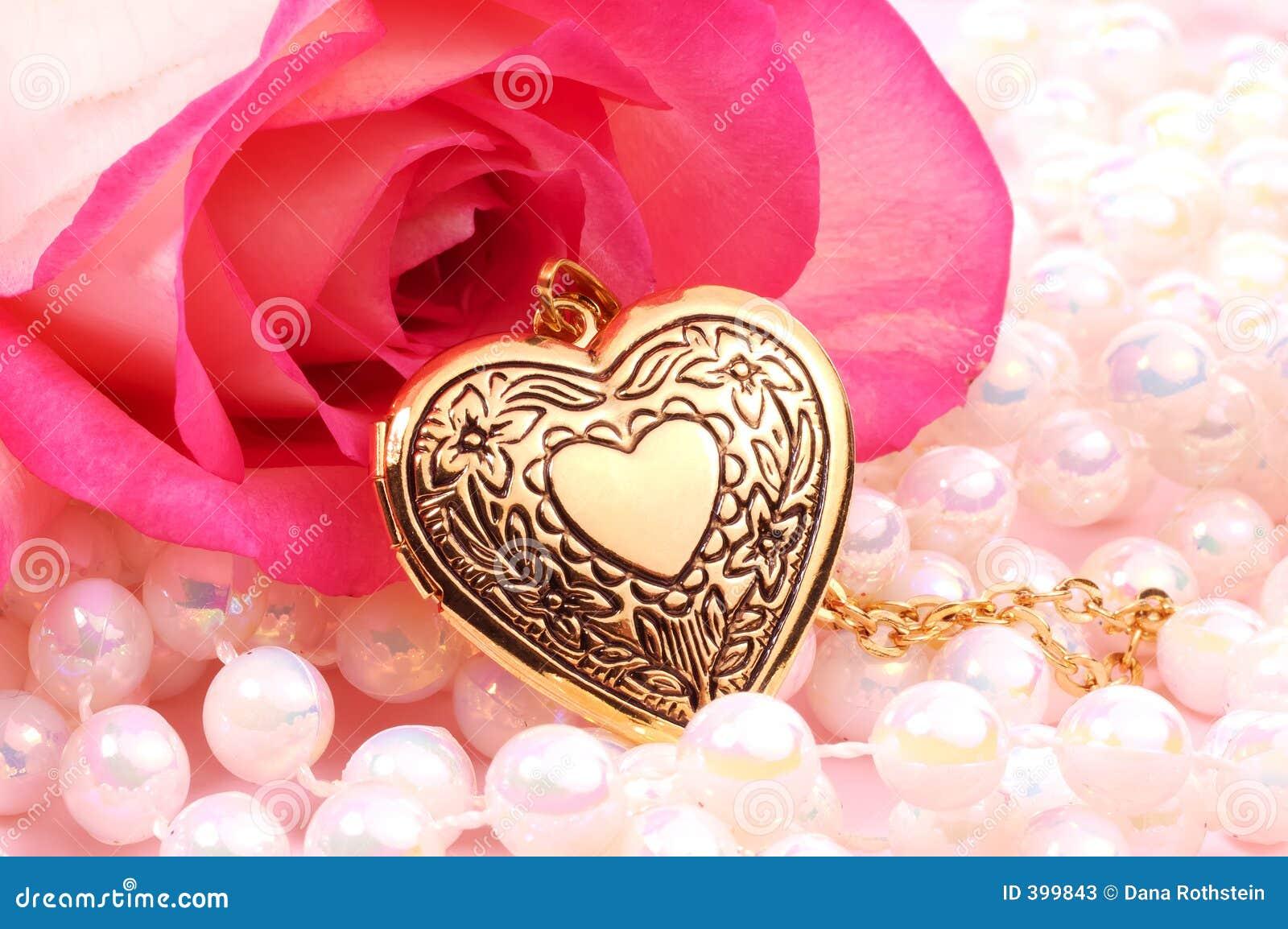 καρδιά locket