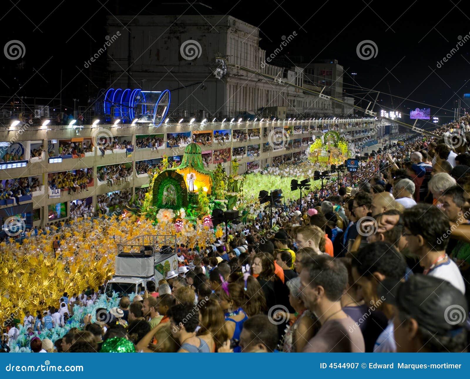 καρναβάλι Ρίο sambodrome
