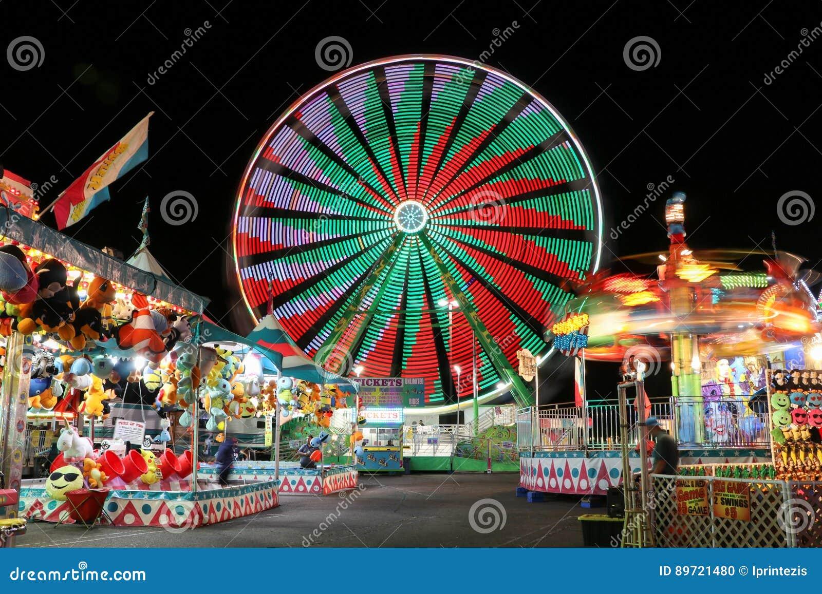Καρναβάλι τη νύχτα