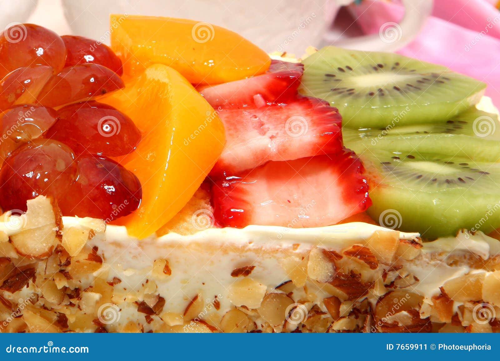 καρπός κέικ που βερνικώνε&
