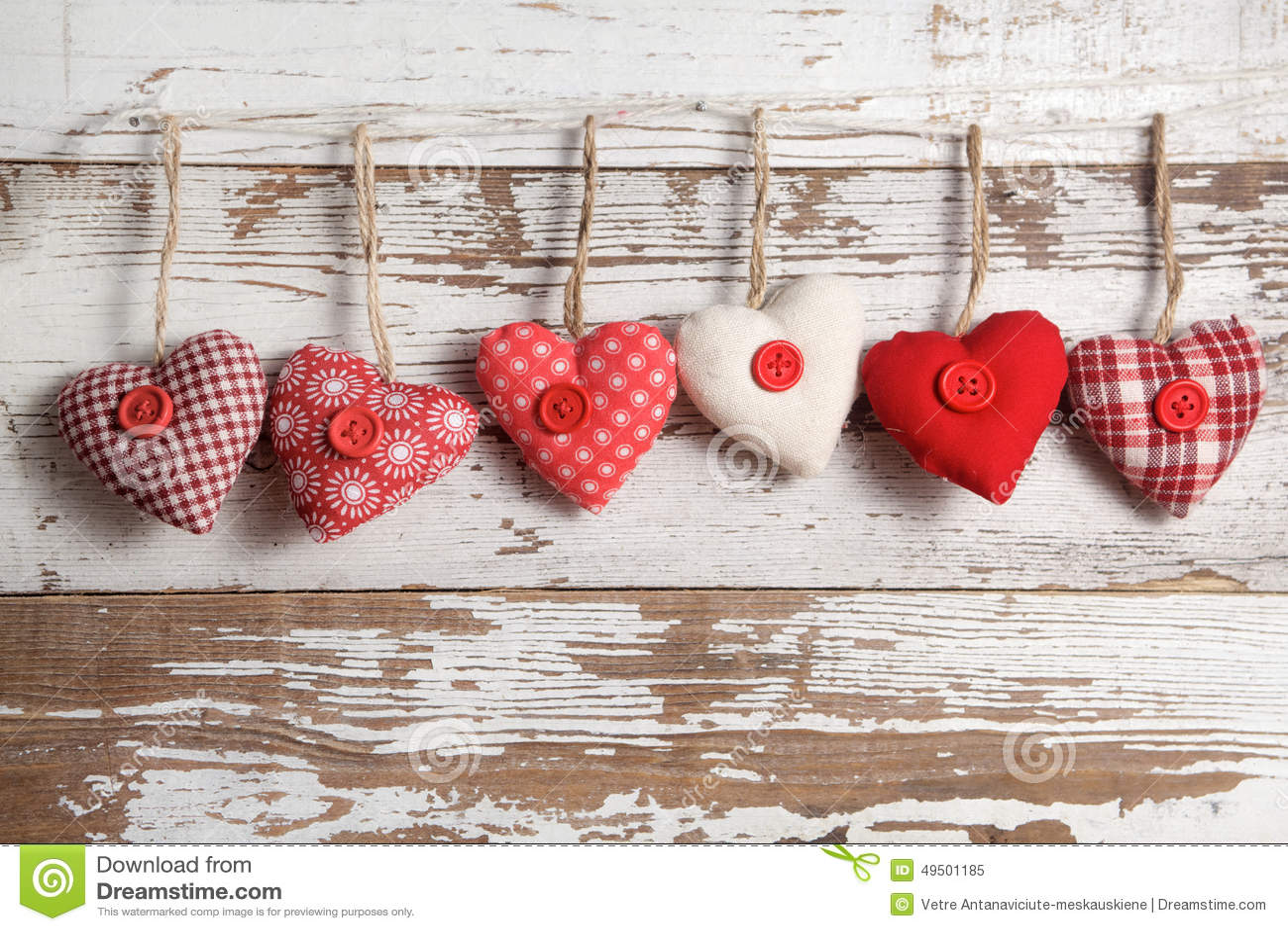 Καρδιές υφάσματος