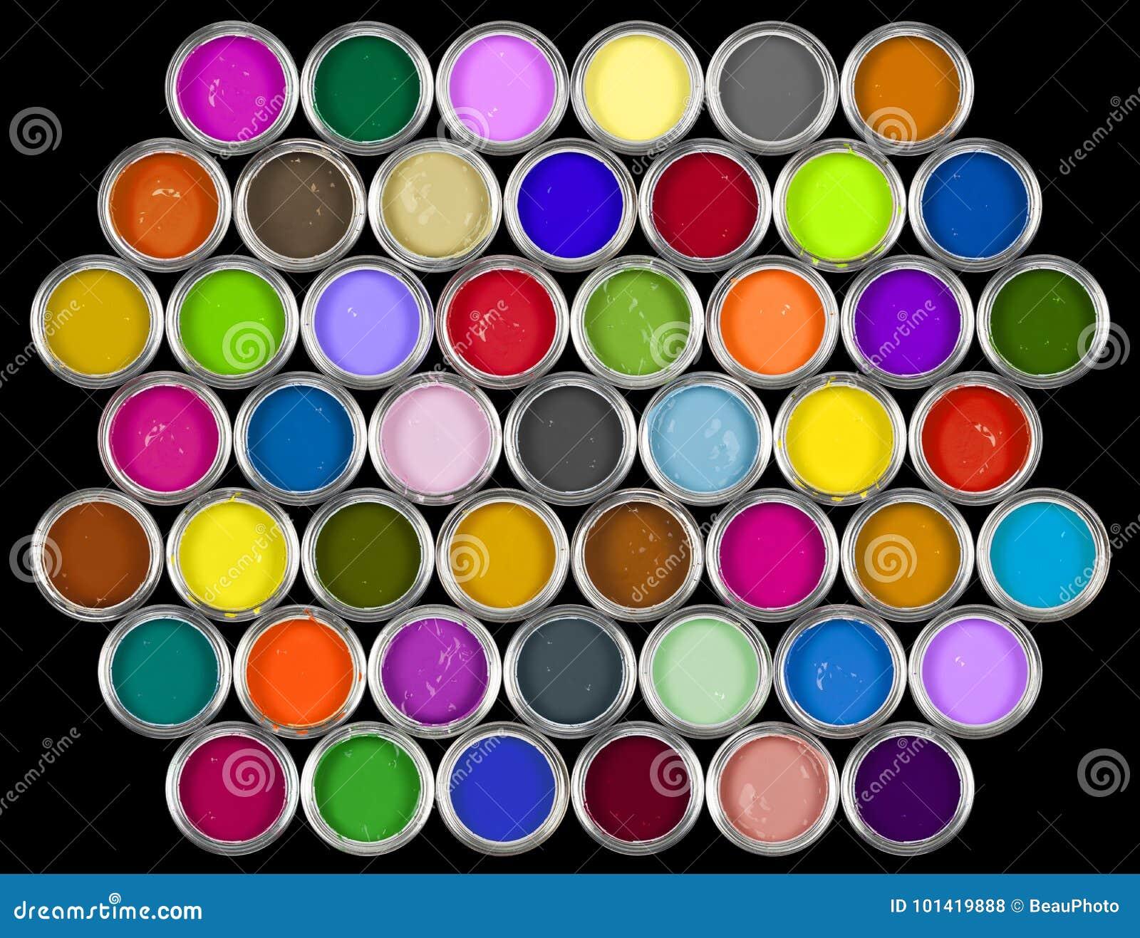 κασσίτεροι χρωμάτων