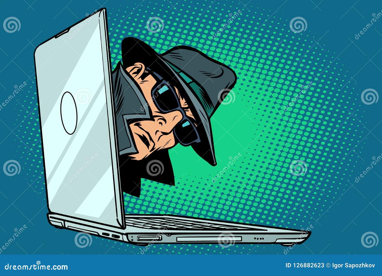 κατάσκοπος i notebook επιτήρηση και χάραξη