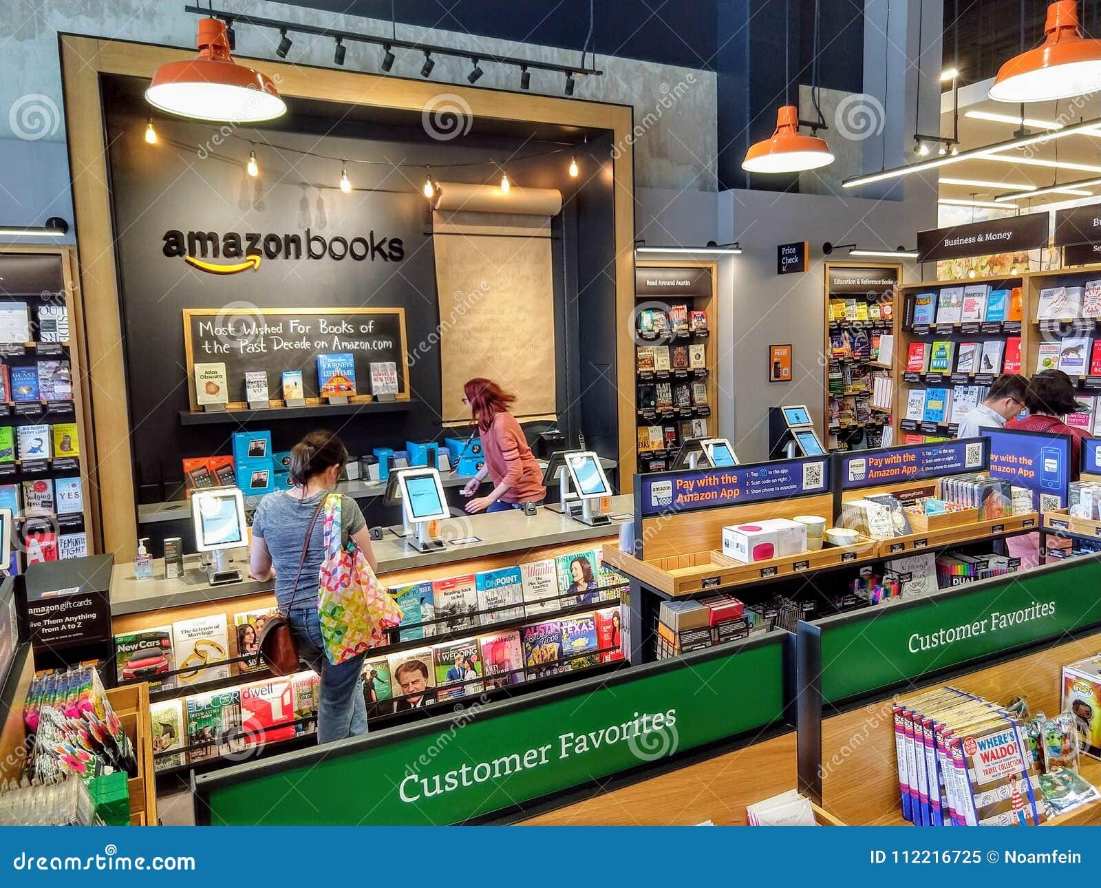 4d0031f869e Κατάστημα βιβλίων του Αμαζονίου Εκδοτική εικόνα - εικόνα από ...