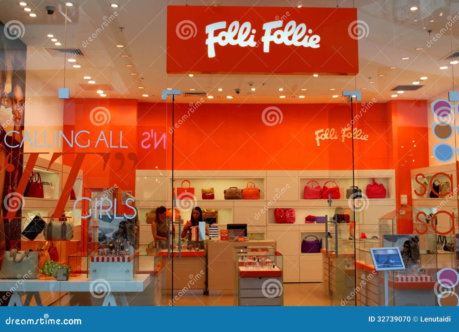 Κατάστημα Folli Follie μόδας τσαντών