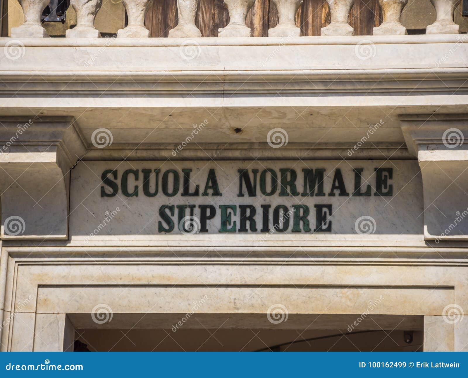 Καταπληκτικό μέγαρο στην πλατεία Cavalieri στην Πίζα - το παλάτι Carovana κάλεσε Scuola Normale Superiore - την Τοσκάνη Ιταλία