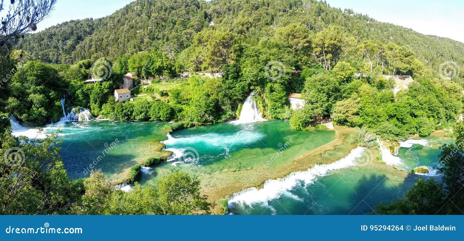 Καταρράκτες στο εθνικό πάρκο Krka, Κροατία