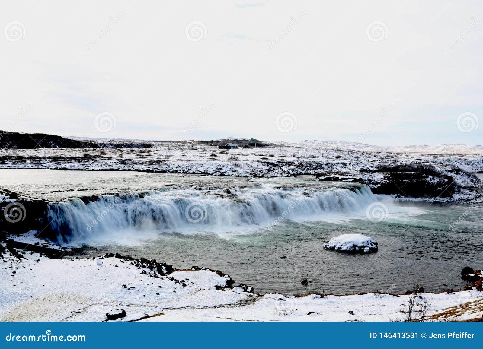 Καταρράκτης Faxifoss, χρυσός κύκλος, Ισλανδία