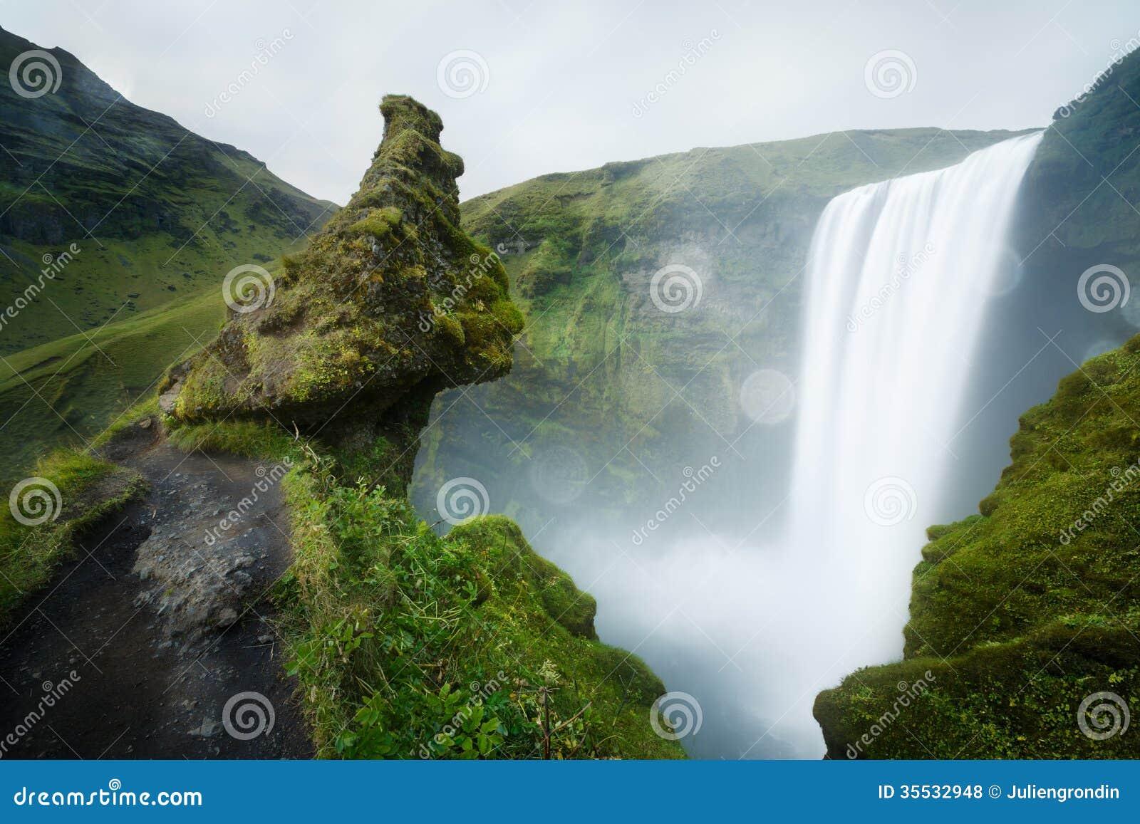 Καταρράκτης Skogafoss στην Ισλανδία