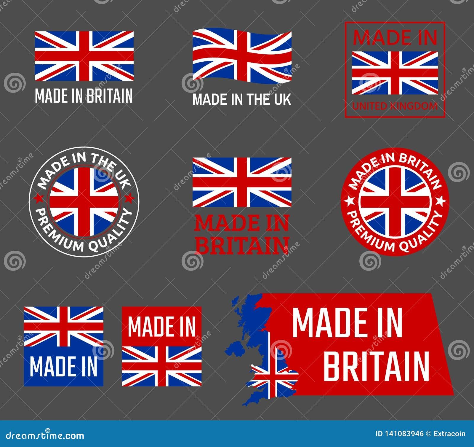 Κατασκευάζω έμβλημα προϊόντων της Μεγάλης Βρετανίας, Ηνωμένο Βασίλειο