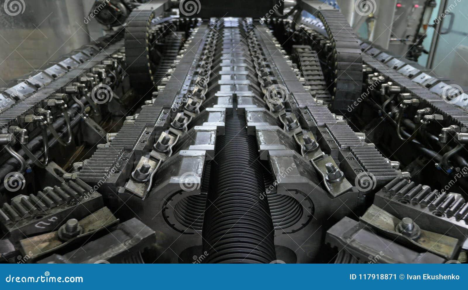 Κατασκευή των πλαστικών υδροσωλήνων Κατασκευή των σωλήνων στο εργοστάσιο Η διαδικασία τους πλαστικούς σωλήνες