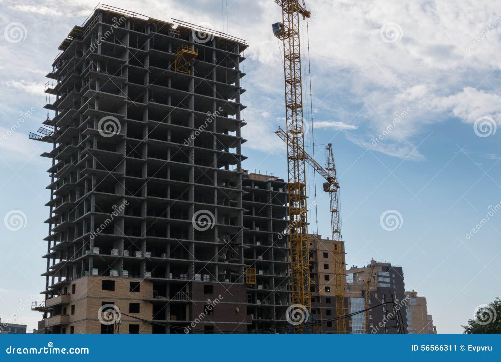 Download Κατασκευή στοκ εικόνα. εικόνα από νέος, κατασκευή, πύργος - 56566311