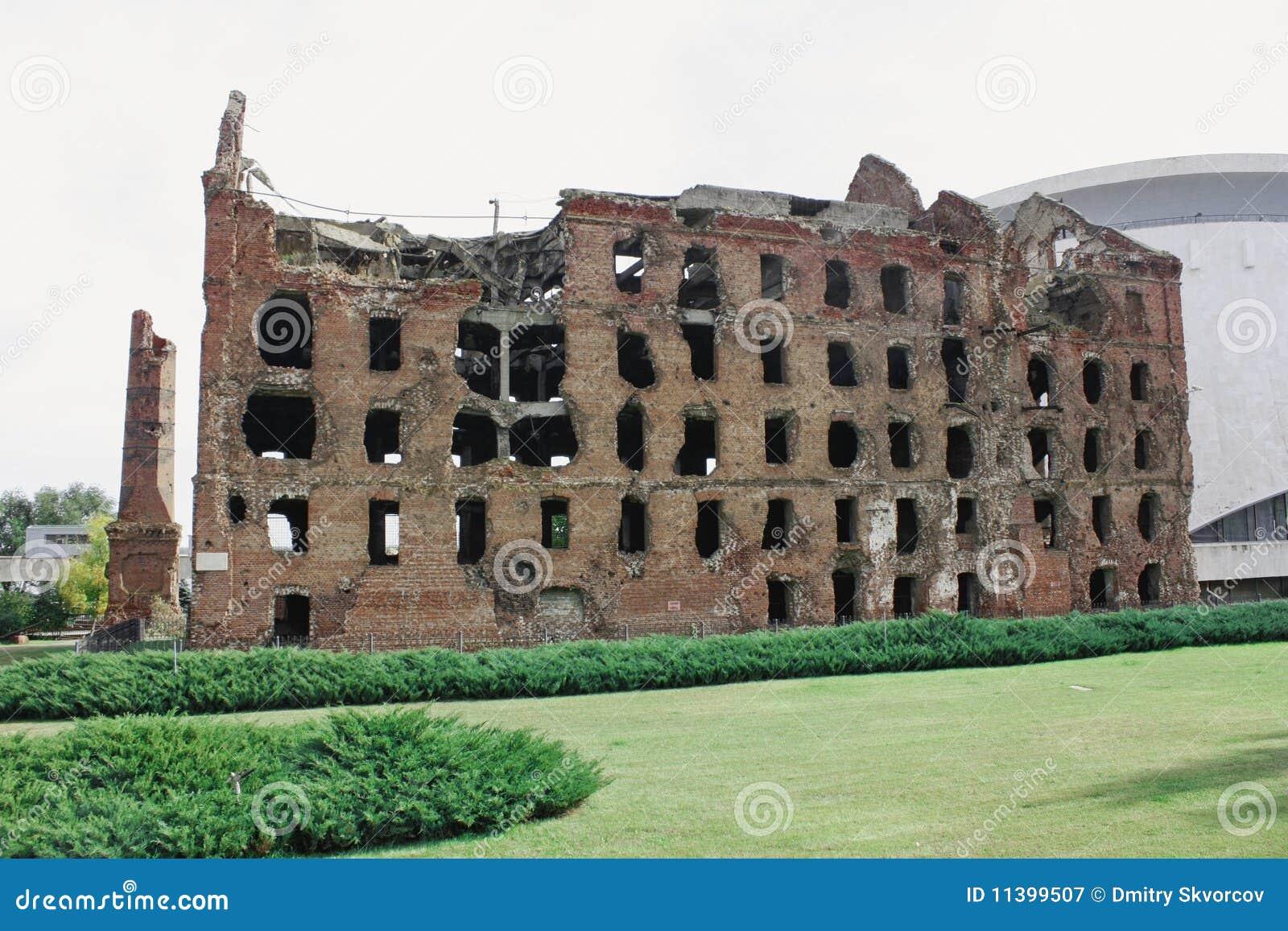 καταστρέφει stalingrad