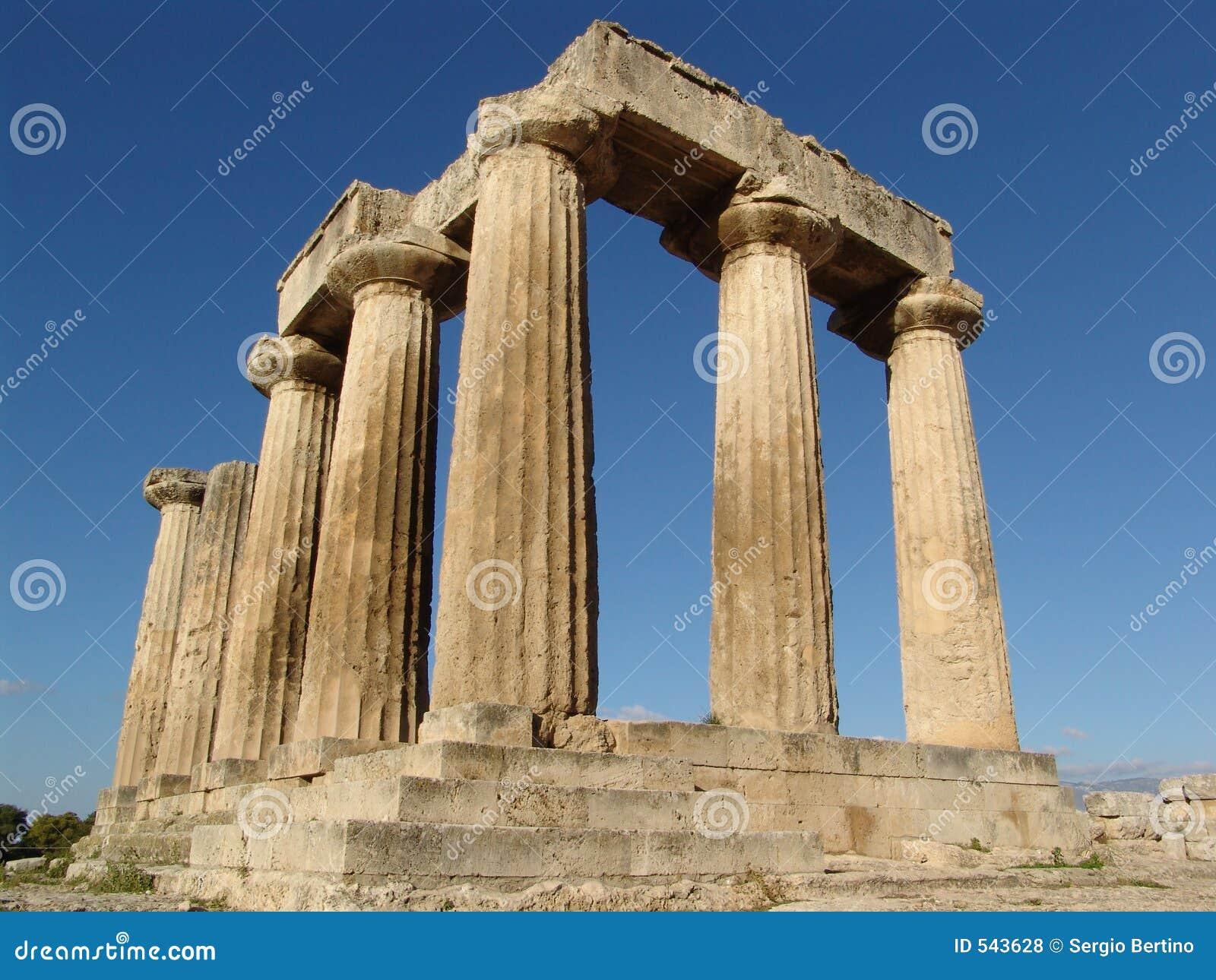 καταστροφές αρχαίου Έλληνα