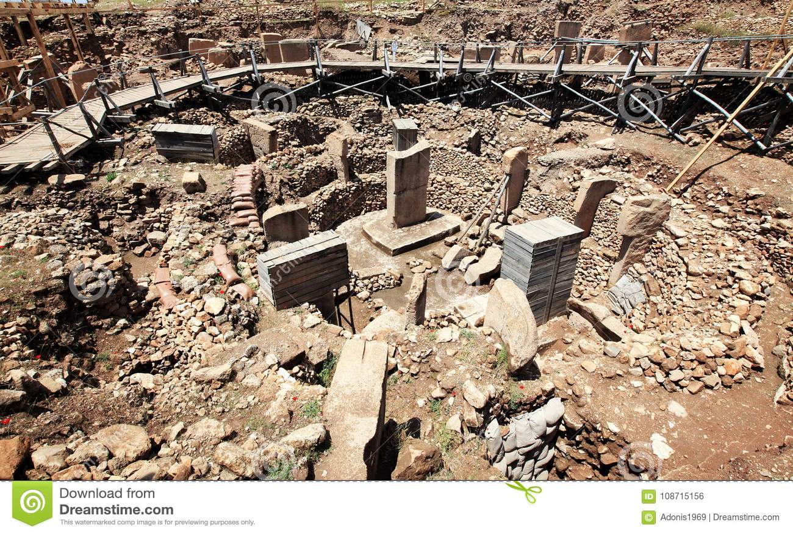 Καταστροφές Gobekli Tepe