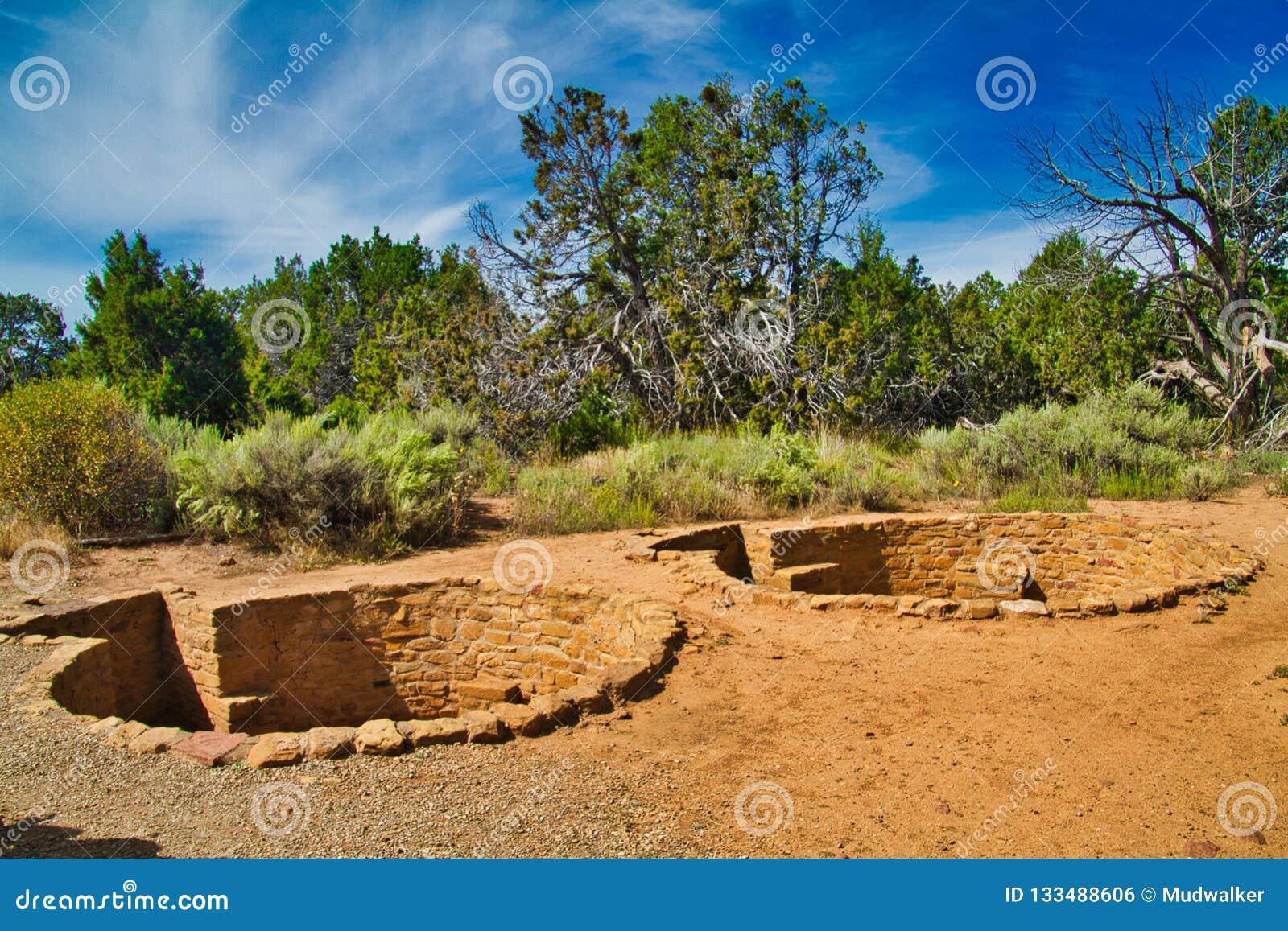 Καταστροφές Kiva σε Mesa Verde