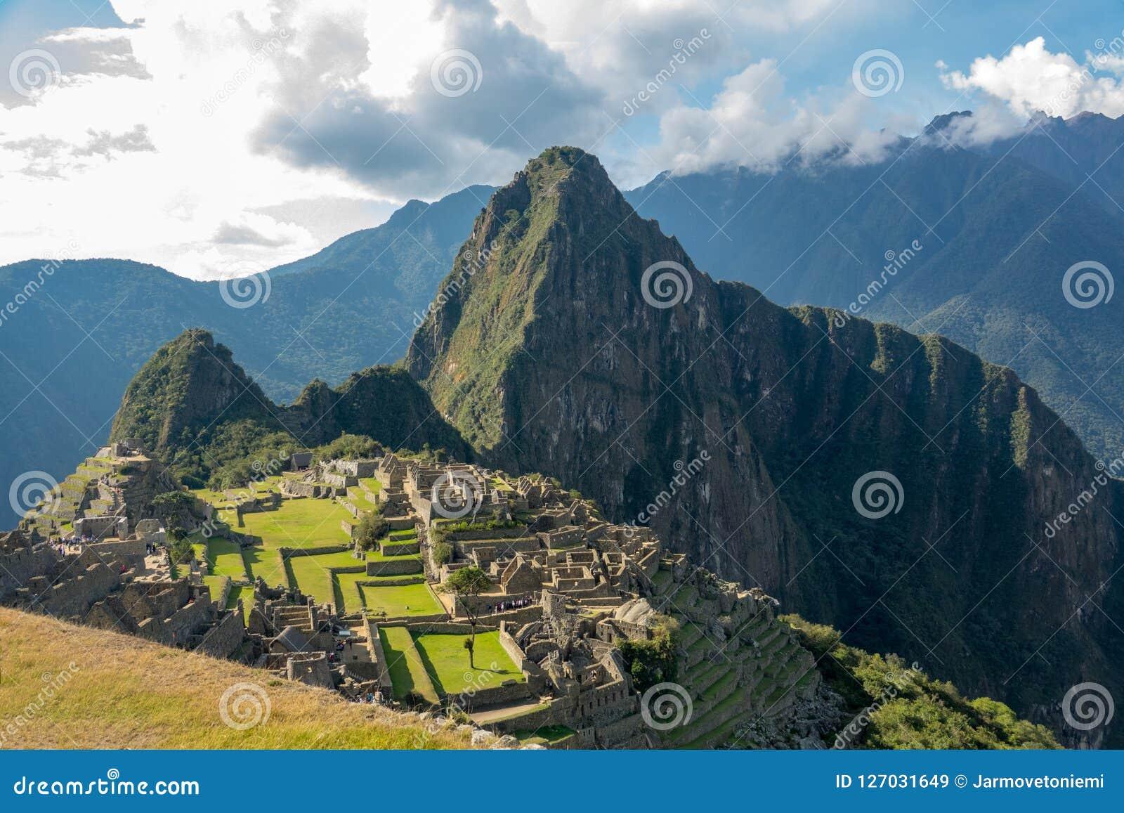 καταστροφές picchu του Περού machu inca