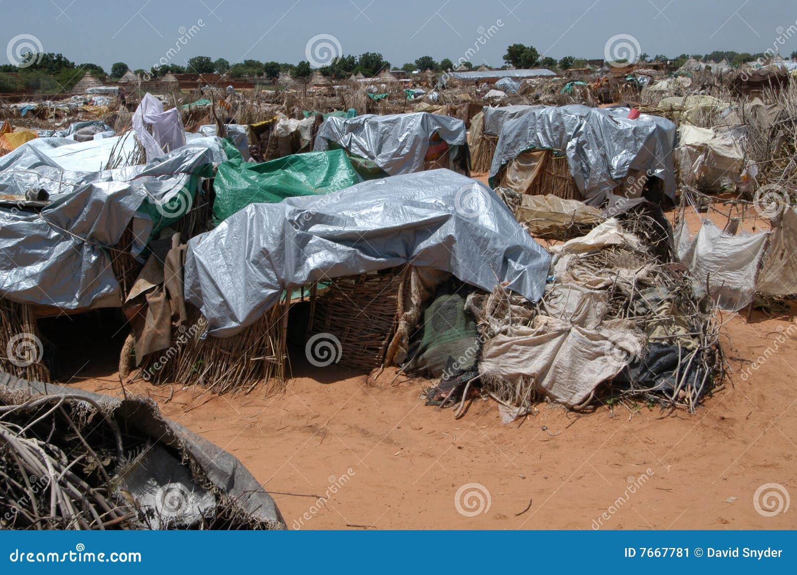 καταφύγια στρατόπεδων darfur