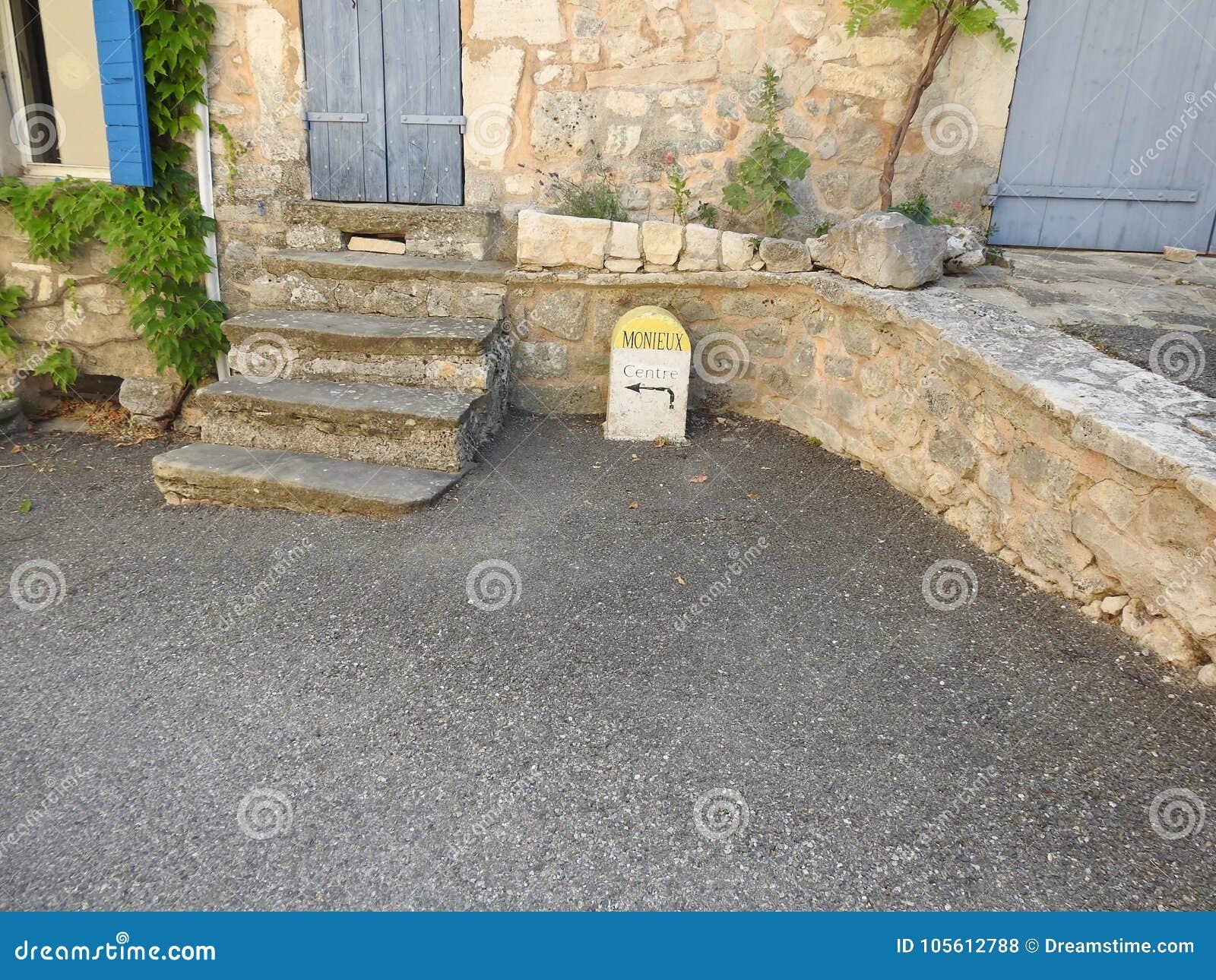 Κατευθύνσεις στο νότο της Γαλλίας