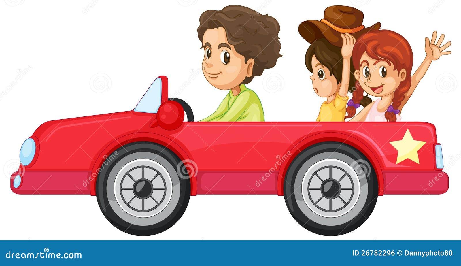 Κατσίκια και ένα αυτοκίνητο