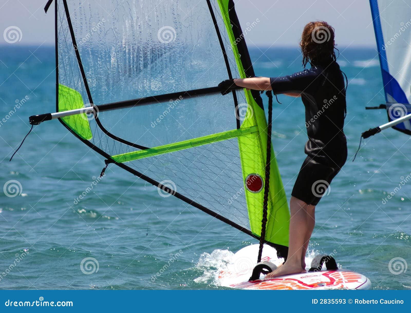 κατσίκι windsurfer