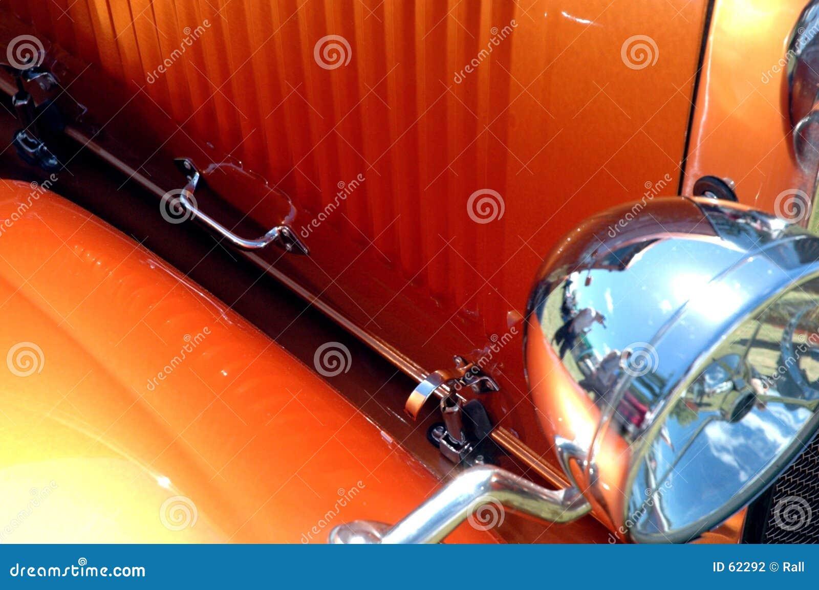 καυτή πορτοκαλιά ράβδος