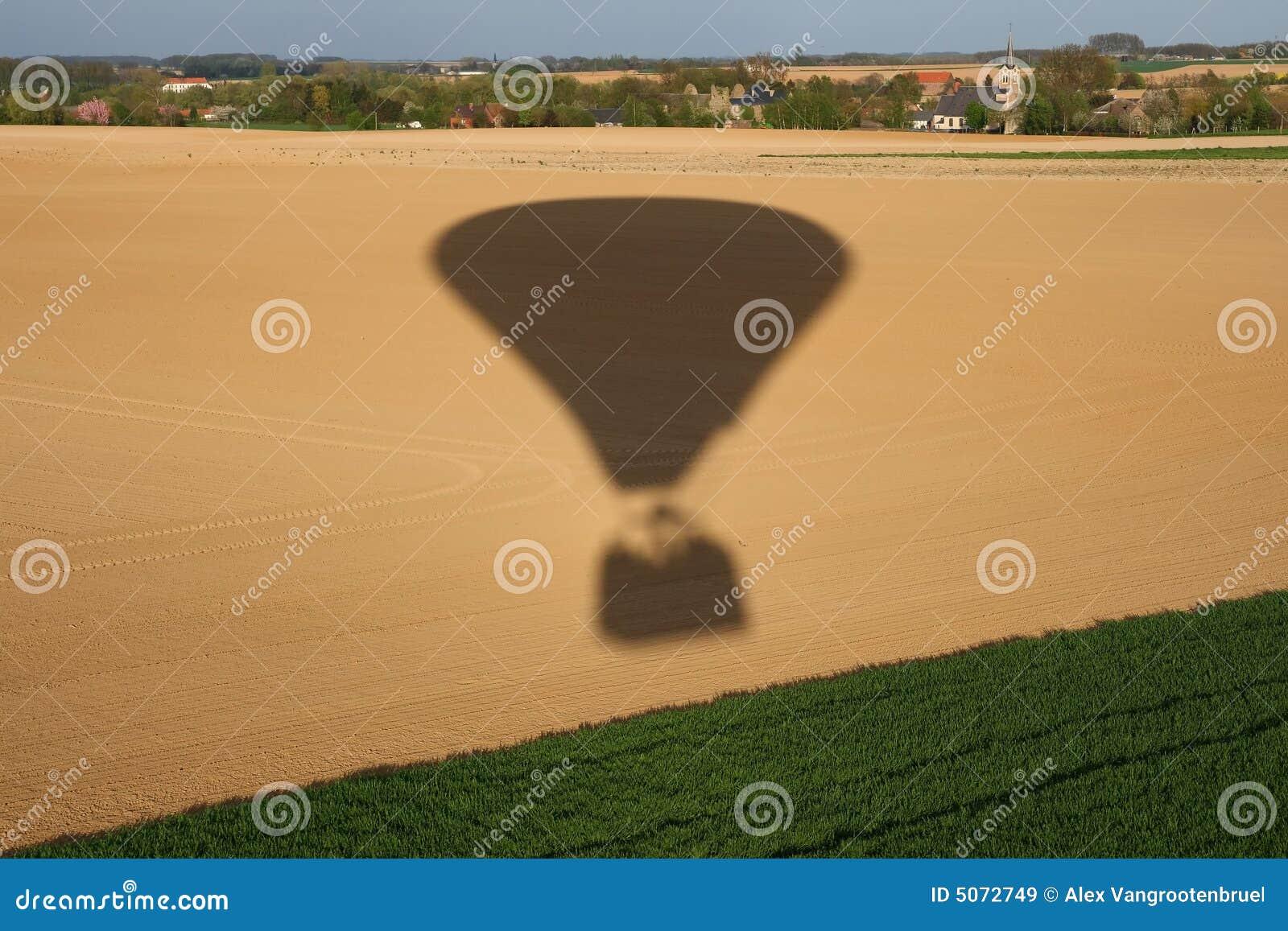καυτή σκιά μπαλονιών αέρα